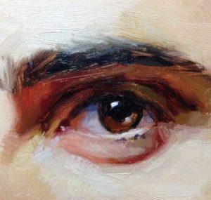 левый глаз10