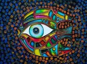 левый глаз7
