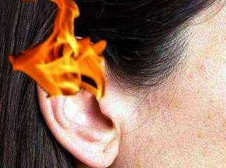 правое ухо горит5