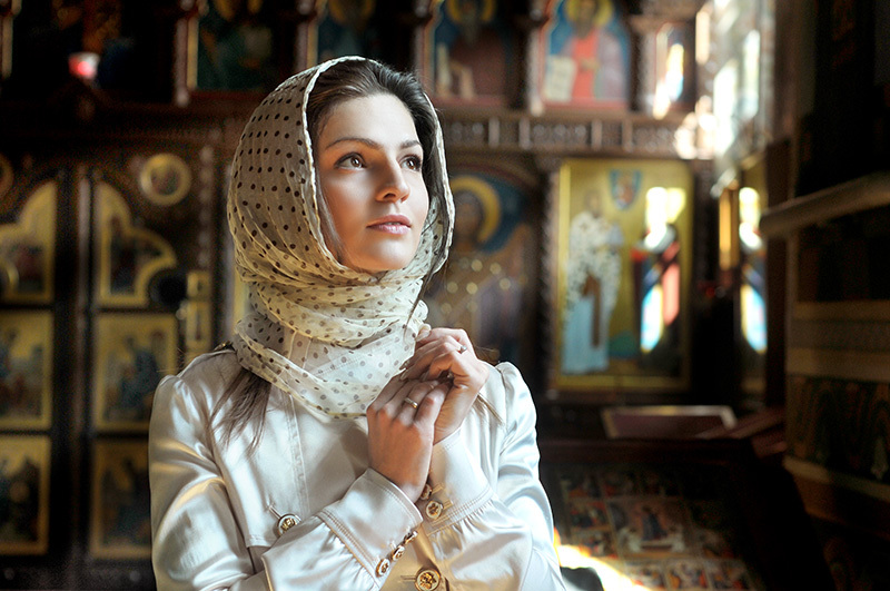 Молитва защищает беременную