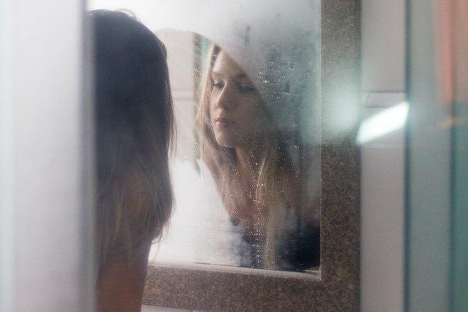 Запотевшее зеркало