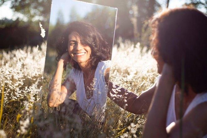 Зеркало в траве