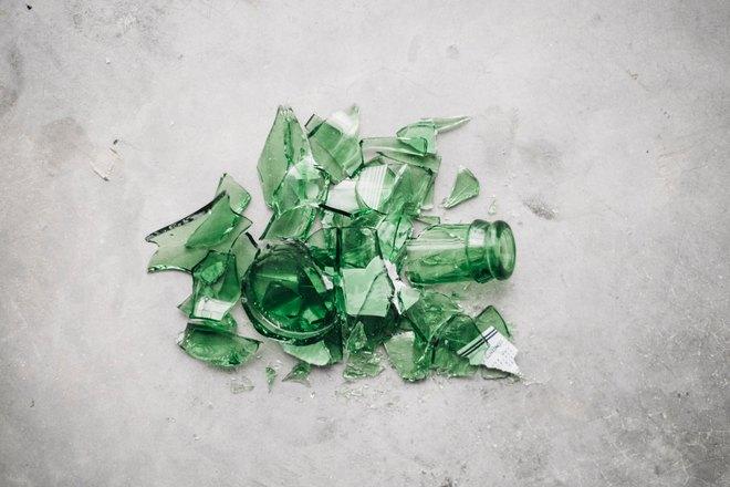 Зеленые осколки