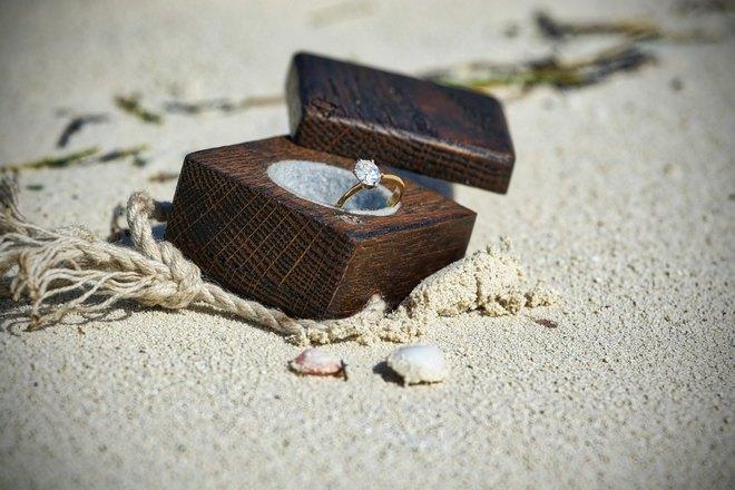 Кольцо на песке
