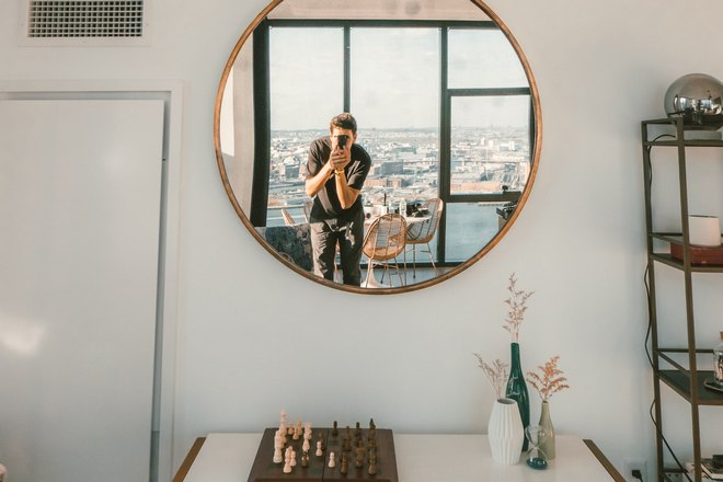 Шахматы под зеркалом