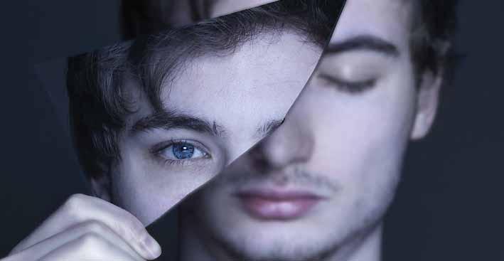 осколок зеркала