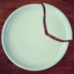 разбитая тарелка 1