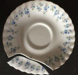 разбитая тарелка 2