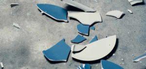 разбитая тарелка 8