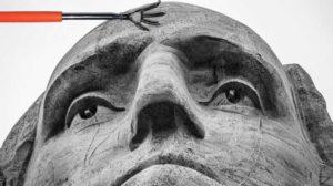 у статуи чешется лоб