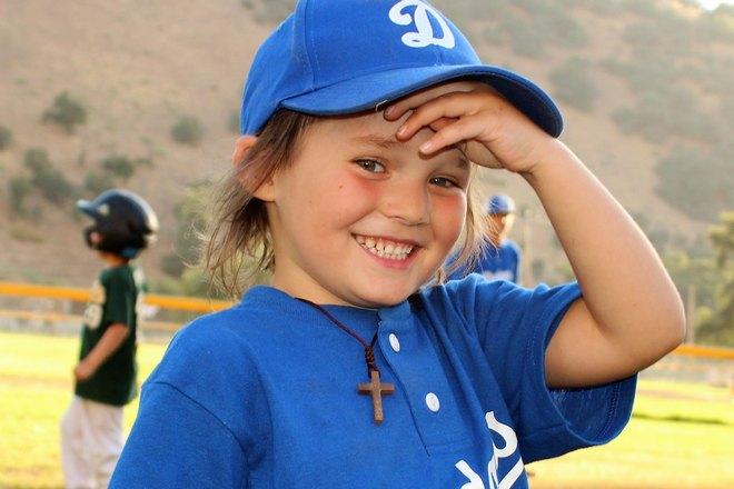 Детский крестик