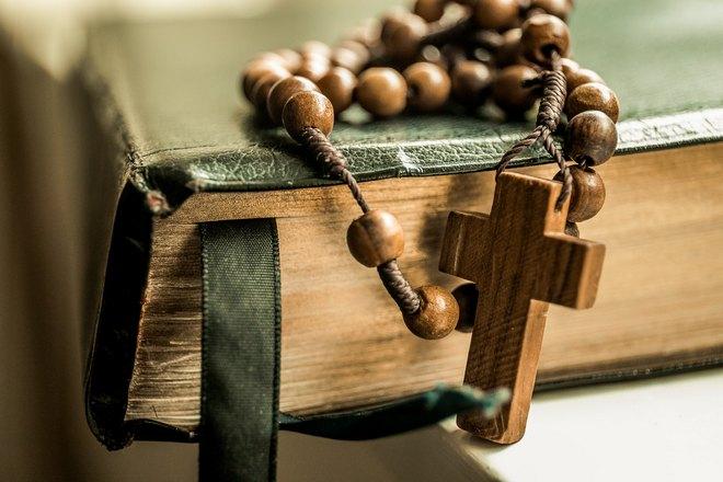 Крестик и Библия