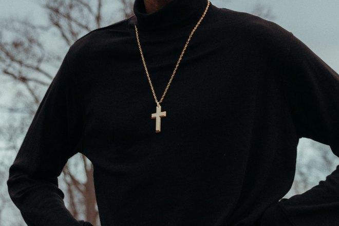Мужской крестик