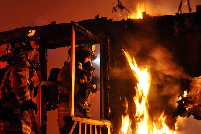 Эпицентр пожара