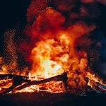 Уличный пожар