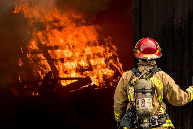 Пожар без пострадавших