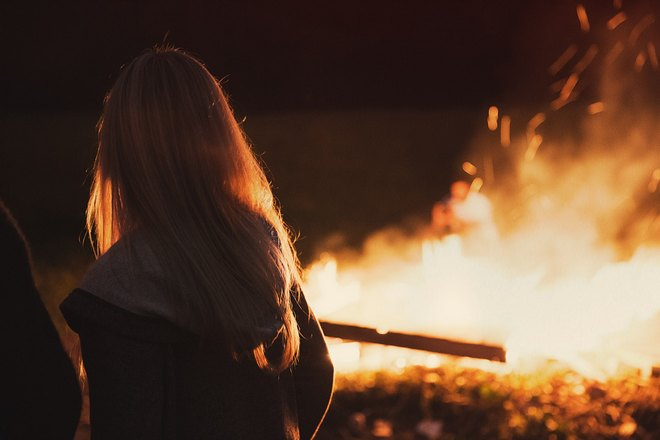 Наблюдение за пожаром
