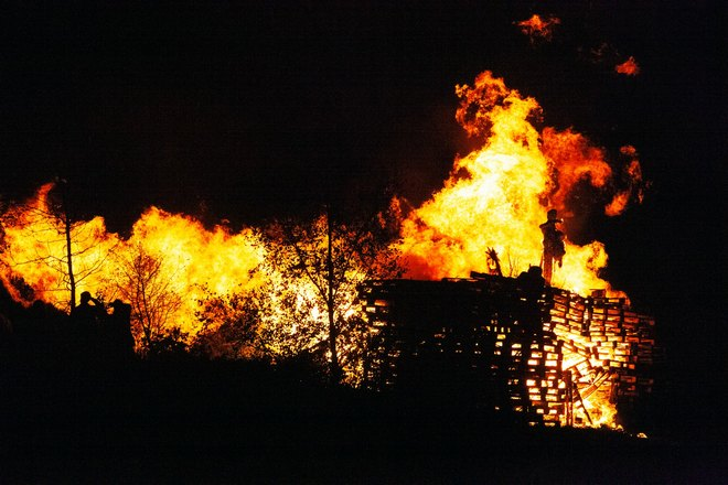 Где-то начался пожар