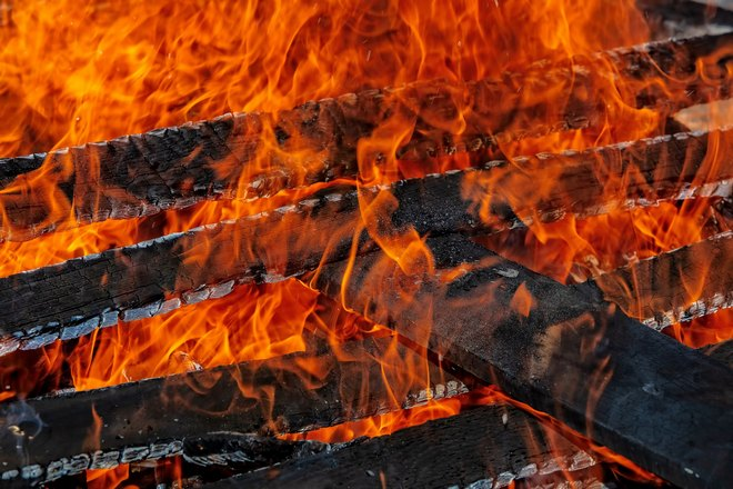 Фото пожара