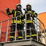 Двое пожарных