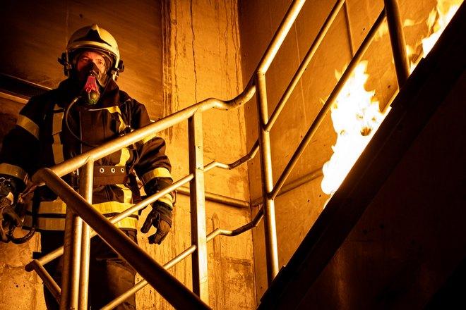 Огонь на лестнице