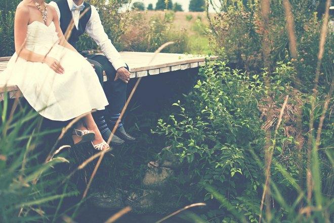 Снится свадба на лоне природы