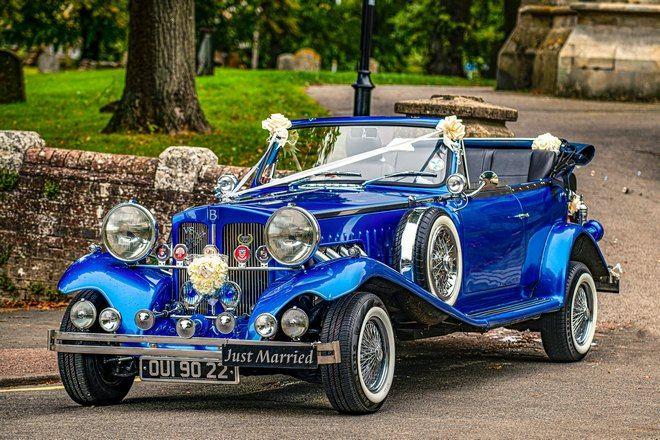 Приснился синий свадебный автомобиль