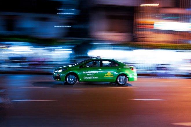 Угон зеленой машины