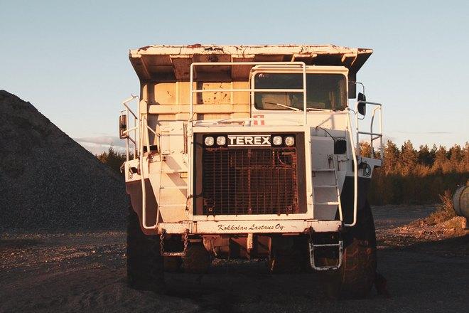 Угнанный грузовик