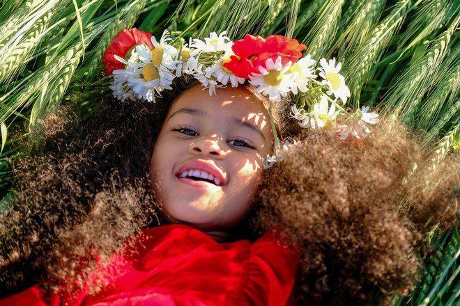 Снятся детские волосы с цветами