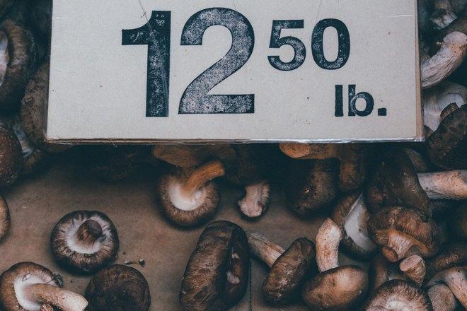Снятся грибы на рынке