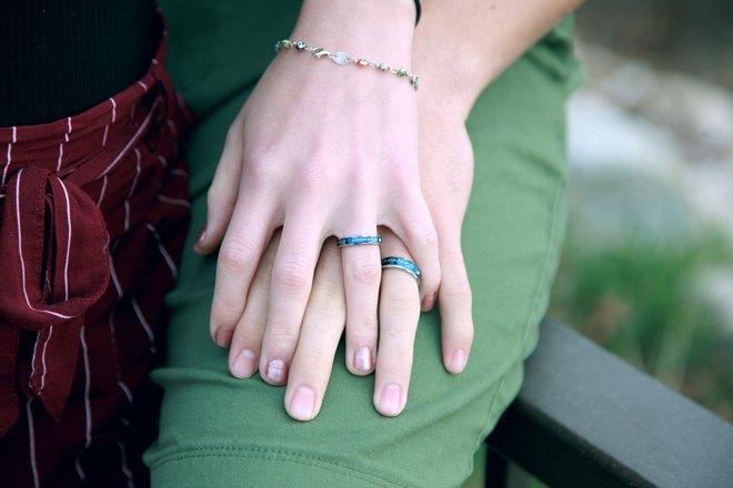 Бирюзовые кольца