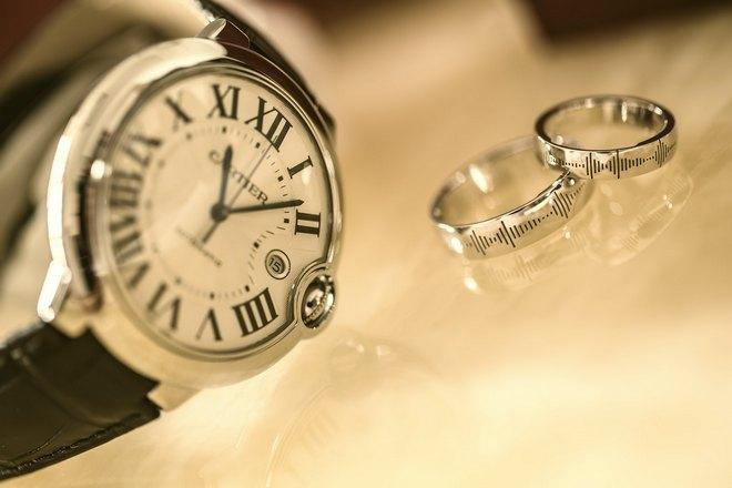 Кольца и часы