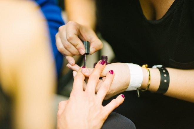 Моделирование ногтя на указательном пальце