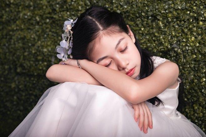 невеста спит