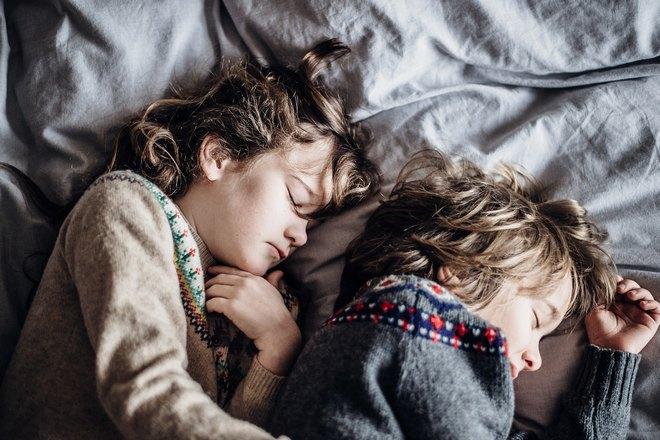 Детский сон с понедельника на вторник
