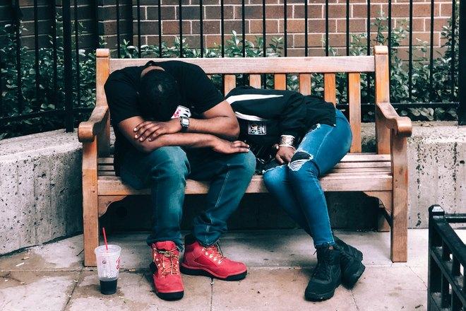 Сны на скамейке с понедельника на вторник