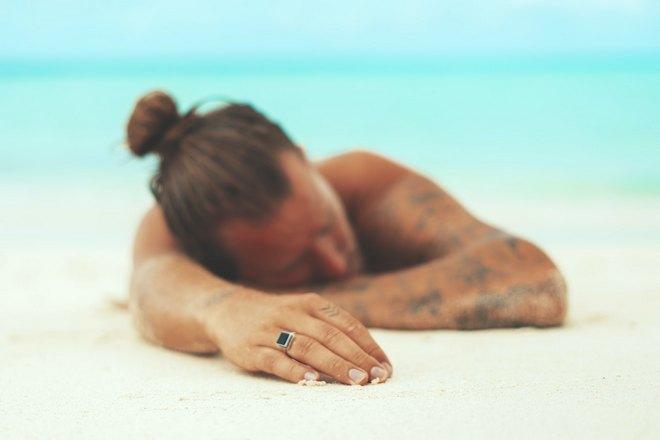 Сон на пляже с понедельника на вторник