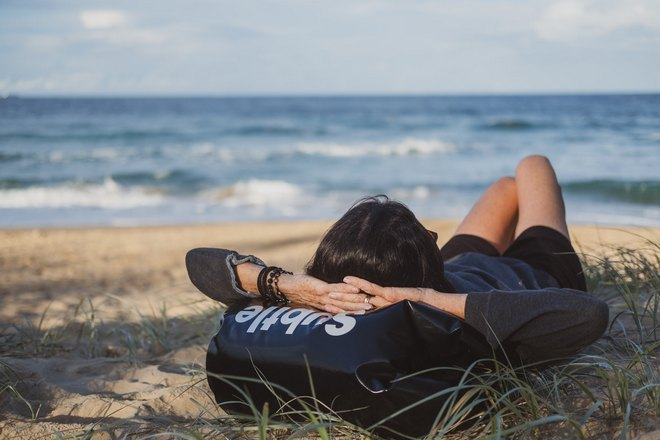 Сон на морском побережье