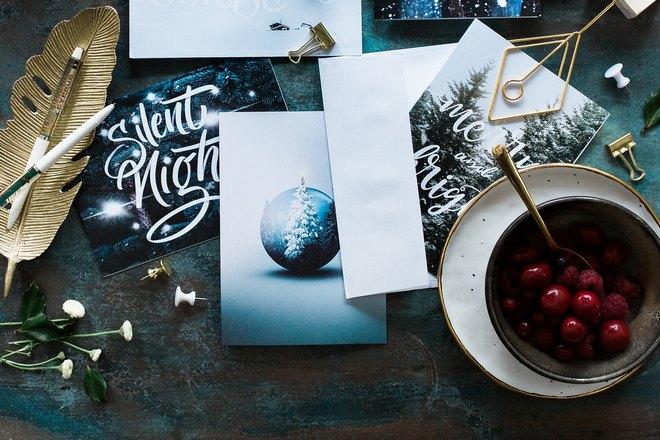Новогодние записки и открытки
