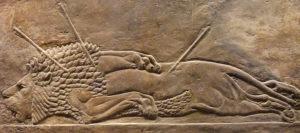 ассирийский лев