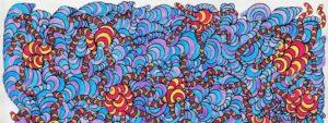 червяки и кишеччник абстракция