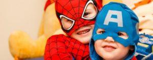 дети супергерои