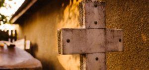 крест могила