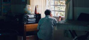 одинокий дедушка