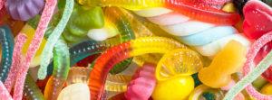 желейные червяки и другие конфеты