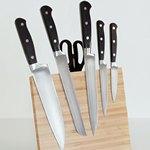 5 ножей и ножницы