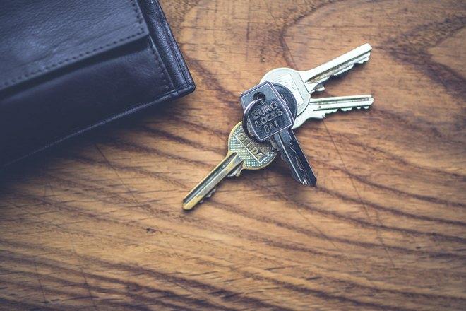 4 ключа на столе