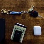 Ключи и бумажник на столе