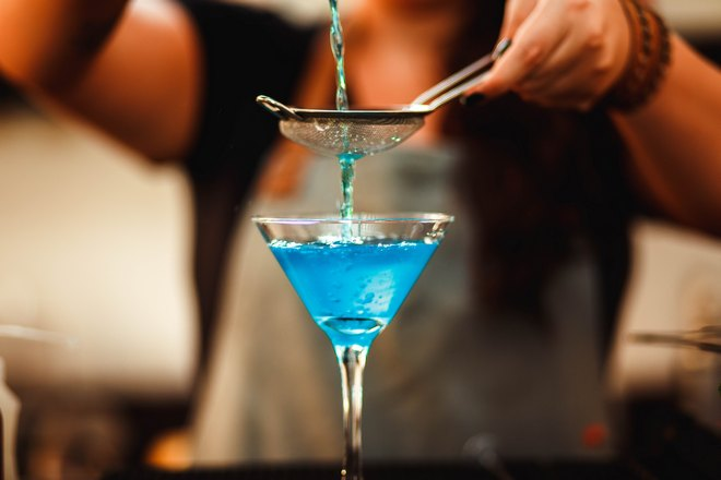 Бирюзовый коктейль
